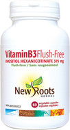 New Roots Vitamin B3 Flush-Free 375 mg 60 Capsules