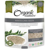 Organic Traditions White Chia Seeds 454 g