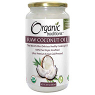 Organic Traditions Raw Extra Virgin Unrefind Coconut Oil 1000 ml