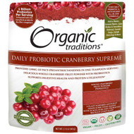 Organic Traditions Daily Probiotic Cranberry Supreme 60 g