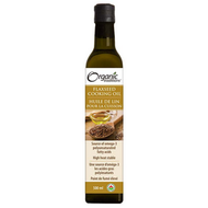 Organic Traditions Flaxseed Cooking Oil 500 ml