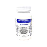 Progressive Laboratories B12 Lingual 1000 mcg 60 Tablets