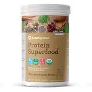 Amazing Grass Protein SuperFood Chocolate Peanut Butter 440 g