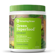 Amazing Grass Green Superfood Energy Lemon Lime 210 Grams 30 Servings