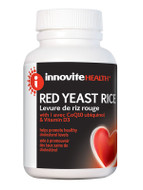 Innovite Red Yeast Rice 300mg 120 Veg Capsules