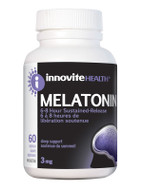 Innovite Melatonin Sustained Release 3mg 60 Veg Capsules