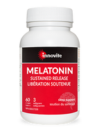 Innovite Melatonin Sustained Release 3mg 60 Veg Capsules