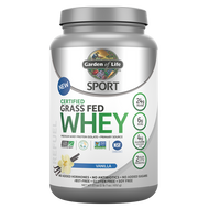 Garden of Life SPORT Certified Grass Fed Whey Vanilla 672 g