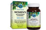 Whole Earth & Sea Women's Multivitamin & Mineral 120 Tablets By Natural Factors