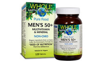 Whole Earth & Sea Men's 50+ Multivitamin & Mineral 120 Tablets By Natural Factors