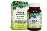 Whole Earth & Sea Men's Multivitamin & Mineral 120 Tablets By Natural Factors