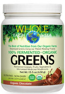 Whole Earth & Sea Fermented Organic Greens Chocolate 438 g
