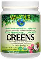 Whole Earth & Sea Fermented Organic Greens Tropical 405 g
