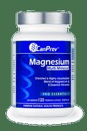 CanPrev Magnesium Multi Mineral 120 Veg Capsules