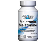Alpha Science Melatonin 60 Sublingual Tablets