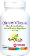 New Roots Calcium DGlucarate 60 Veg Capsules