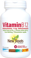 New Roots Vitamin B12 Methylcobalamin 15 mg 30 Sublingual Tablets