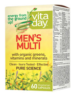VitaDay Men's Multi 60 Veg Capsules