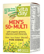 VitaDay Men's 50+ Multi 60 Veg Capsules