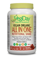 VegiDay All in One Nutritional Shake Decadent Chocolate 900 g