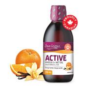 Sea-licious Active Omega-3 +MCT Oil Orange Vanilla 250 ml