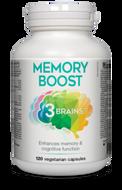 3 Brains Memory Boost 120 Veg Capsules