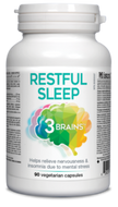 3 Brains Restful Sleep 90 Veg Capsules