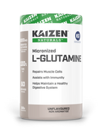 Kaizen Naturals Micronized L-Glutamine 300 g