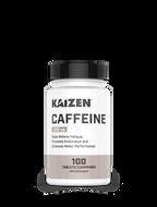 Kaizen Naturals Caffeine 100 Tablets