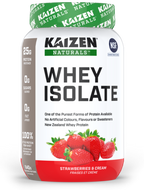 Kaizen Naturals Whey Isolate Strawberry 840 g