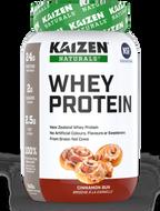 Kaizen Naturals Whey Protein Cinnamon Bun 840 g