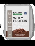 Kaizen Naturals Whey Protein Chocolate Sachets 10 x 32 g