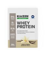 Kaizen Naturals Whey Protein Vanilla Sachets 10 x 32 g