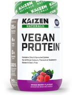 Kaizen Naturals Vegan Protein Mixed Berry 840 g