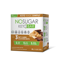 No Sugar Keto Bar Chocolate Peanut Butter 12x40 g