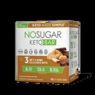 No Sugar Keto Bar Chocolate Peanut Butter 12x40 g