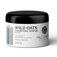 Mill Creek Wild Oats Charcoal Scrub 113 Grams