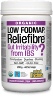 Natural Factors Organic Reliefibre Low FODMAP Unflavoured 200 g