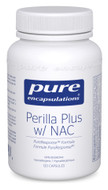 Pure Encapsulations Pure Perilla Plus With NAC 120 Veg Capsules