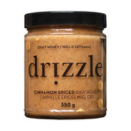 Drizzle Cinnamon Spiced Raw Honey 350g