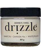 Drizzle White Raw Honey 80g