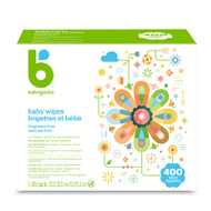 Babyganics Baby Wipes 400 ct