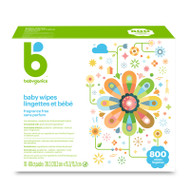 Babyganics Baby Wipes 800 ct