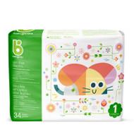 Babyganics Skin Love Diapers Size 1 -Bag of 34