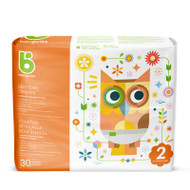 Babyganics Skin Love Diapers Size 2 -Bag of 30