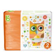 Babyganics Skin Love Diapers Size 2 -Bag of 30