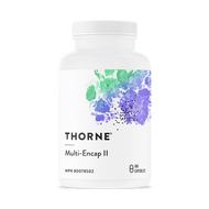 Thorne Multi Encap II With Copper and Iron 180 Veg Capsules