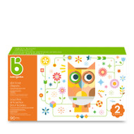 Babyganics Skin Love Diapers Size 2 -Box of 90