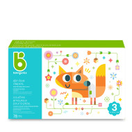 Babyganics Skin Love Diapers Size 3 -Box of 78