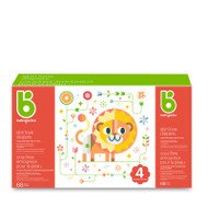 Babyganics Skin Love Diapers Size 4 -Box of 68